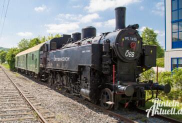 Extertaler Technikdenkmal wieder zu Hause: Dampflok aus Augsburg zurückgekehrt