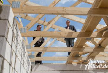 Steding Bauunternehmen feiert Richtfest bei neuem Projekt