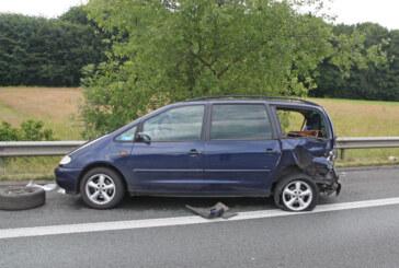 Unfall auf der A2 bei Vlotho: 7 Verletzte, 12.000 Euro Schaden