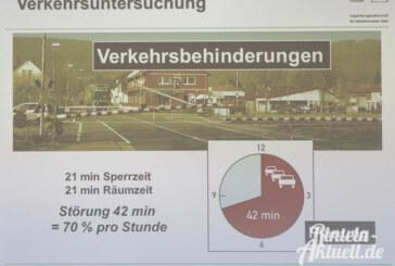 Fatale Folgen durch Gütertrasse: 42 Minuten Stillstand pro Stunde würden Verkehr lahmlegen
