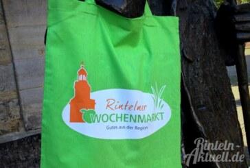 Baumwolle statt Plastik: Neue Taschen für Rintelner Wochenmarkt-Besucher