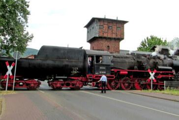 """Mit """"Else"""", """"Stettin"""" und der Dampfeisenbahn Weserbergland auf Achse"""