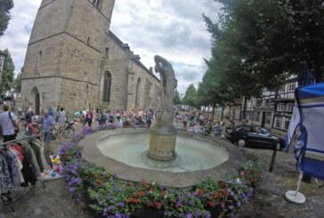 Sommerferienspaß Rinteln startet mit Flohmarkt auf dem Kirchplatz