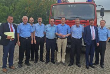 Feuerwehren entlang der A2 unter großer Belastung: Informationsaustausch mit Maik Beermann (MdB)