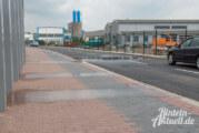 Neue Verbindungsstraße Nord: Nach Regen undicht