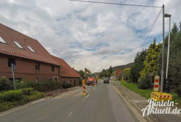 Bauarbeiten an Ortsdurchfahrt Todenmann gestartet