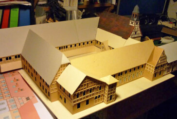 Modellbauprojekt des Museums Eulenburg macht Fortschritte
