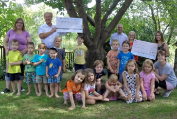 Große Spendenbereitschaft für Paul: Kindergarten nimmt 1.500 Euro entgegen
