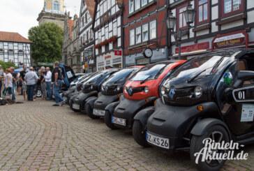 Rinteln – für ein Wochenende Welthauptstadt der Elektromobilität