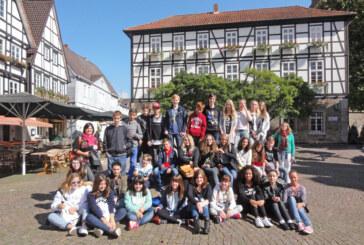 Europasprache Spanisch: Ernestinum Rinteln empfing Austauschgruppe aus Getafe-Madrid