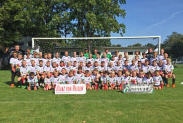 """Nachwuchskicker im """"Hannover 96 Fußballcamp"""" beim SC Rinteln"""