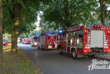 250 Einsatzkräfte bei Evakuierungsübung im neuen Pflegebereich der Lebenshilfe Rinteln