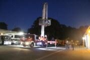 Lebenshilfe-Feuerwehr bekommt Besuch von Bückeburger Kernstadtwehr