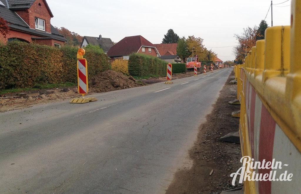 01 rintelnaktuell l441 todenmann baustelle ortsdurchfahrt hauptstrasse