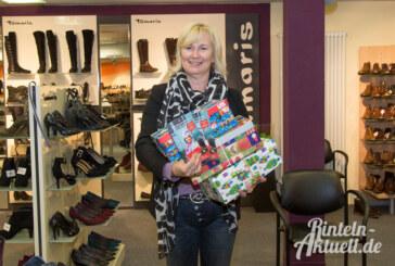 Weihnachten im Schuhkarton: Geschenkaktion für Kinder