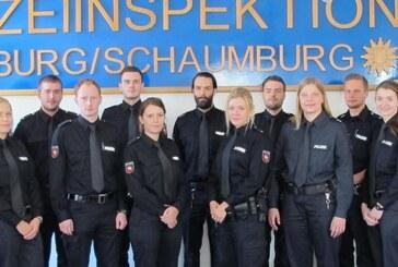 15 Neuzugänge für die Polizeiinspektion Nienburg/Schaumburg