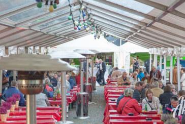 Start frei für die Rintelner Weintage 2015 am Kirchplatz