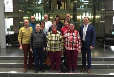 Werkstattrat der Paritätischen Lebenshilfe Schaumburg-Weserbergland zu Besuch im politischen Berlin