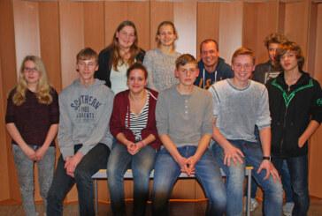Neuer Jugendvorstand bei DLRG Ortsgruppe Rinteln