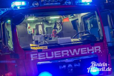 A2 bei Veltheim: Mercedes in Brand