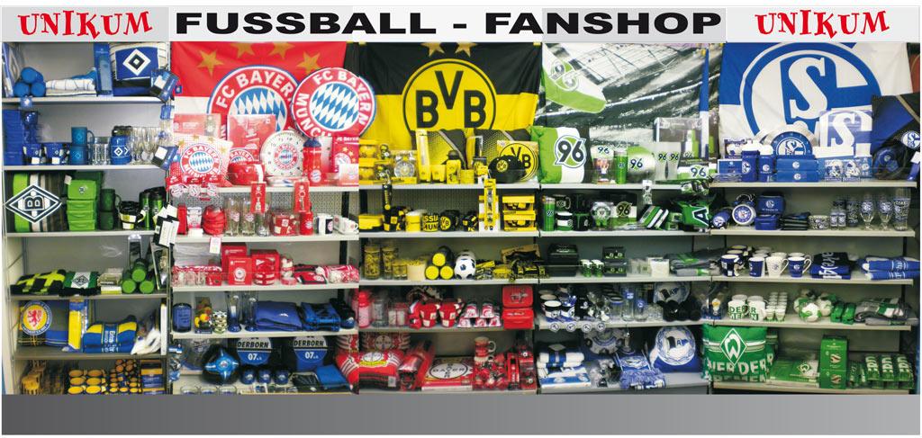 Fussball Fanshop