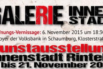 Kunst und Handel vereint: Galerie Innenstadt vom 06.-21.11.2015