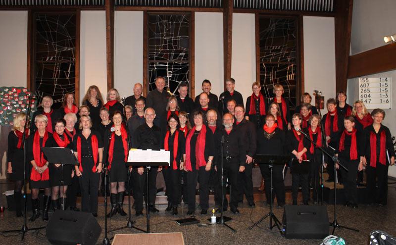 Der Gospelchor lädt zum Jahreskonzert ins Johannis-Kirchzentrum. (Foto: privat)