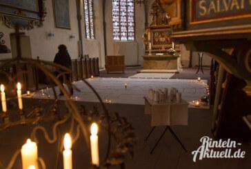 Begehbares Labyrinth in St. Nikolai ausgelegt