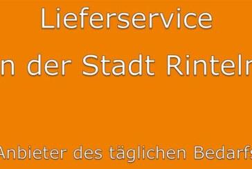"""""""Lieferservice in der Stadt Rinteln"""": Anbieter des täglichen Bedarfs"""
