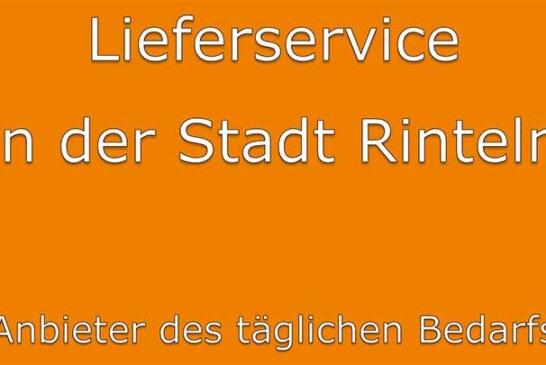 """Aktualisierte Broschüre """"Lieferservice in der Stadt Rinteln"""""""