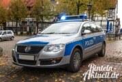 Einbruch, Sachbeschädigung, Diebstahl: Neues aus dem Polizeibericht Rinteln