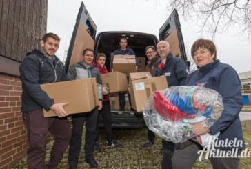 Spenden aus Kendal in Rinteln angekommen