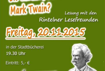 Sie denken, Sie kennen Mark Twain?