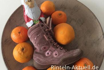Der Nikolaus kommt nach Rinteln: Stiefel-Aktion am 28. und 29. November