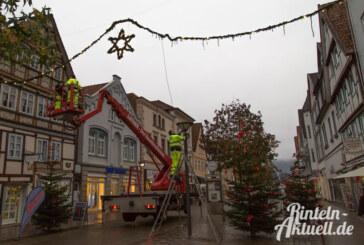 Mit der Rintelner Weihnachtsbeleuchtung in die Adventszeit