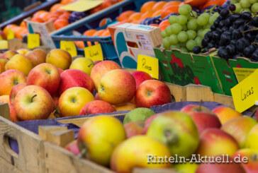 Wochenmarkt am 7. September fällt aus