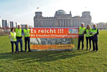 Bürgerinitiative zu Besuch in Berlin