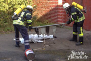Feuerwehr Wennenkamp bei der Herbstübung