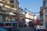Am Samstag: Verkehrs- und Parkeinschränkungen wegen Montage der Weihnachtsbeleuchtung