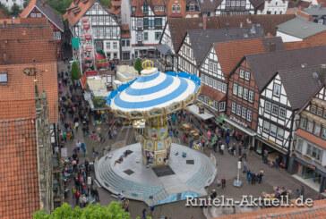 Rintelner Messe XXL: Vom 5.-9. Mai fünf tolle Tage Altstadt-Jahrmarkt