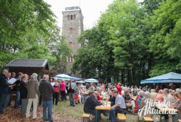 Muttertag: Klippenturmfest des Verschönerungsvereins Rinteln
