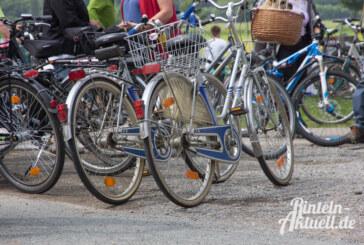 Fahrrad-Codierung beim Polizeikommissariat Rinteln
