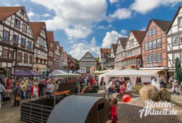 Lebendige Vielfalt: Rintelner Öko- und Bauernmarkt am 9. und 10. September
