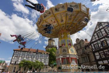 625 Jahre Rintelner Messe: Kirmes, Jahrmarkt und Unterhaltung vom 5. bis 8. Mai