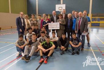 Spende für Integration durch Sport