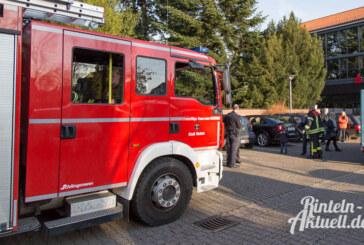 Verlängerungskabel sorgt für Feuerwehreinsatz