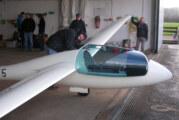 Luftsportverein Rinteln beendet erfolgreiche Flugsaison – Winterwartung an den Segelflugzeugen