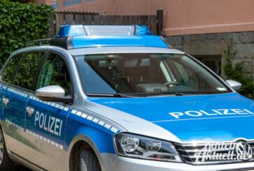 Verfolgungsjagd, Überschlag, Einbrecher verletzt sich: Meldungen aus dem Polizeibericht