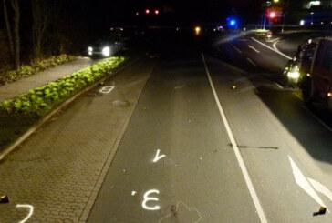 Neue Erkenntnisse zum tödlichem Unfall einer Fußgängerin in Porta