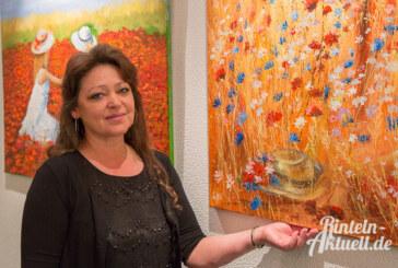 Harmonie im Farbenspiel: Neue Ausstellung in der Rathausgalerie Rinteln